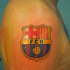 fcb barcelona arm - tattoo designs