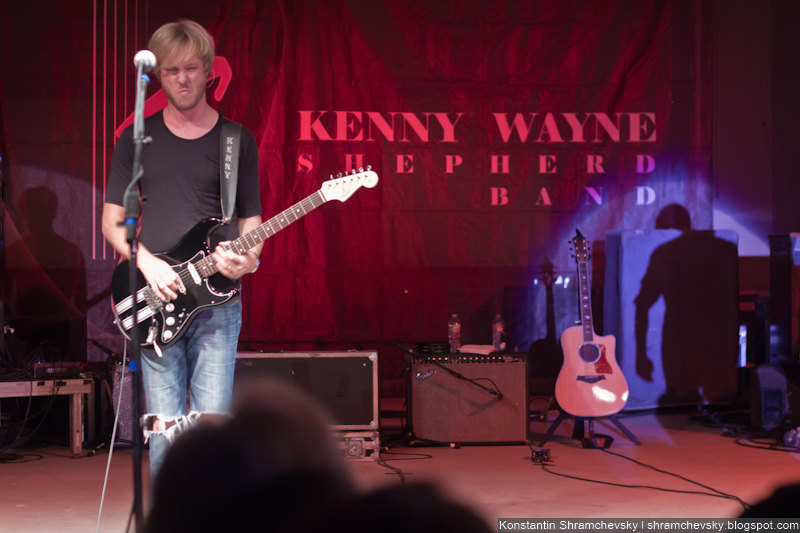 Kenny Wayne Shepherd Band Live Thunder Mountain Amphitheatre Loveland Colorado Кенни Уэйн Вейн Шеперд Концерт США