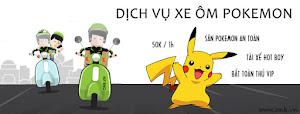 Dịch vụ xe ôm đi bất pokemon Biên Hòa