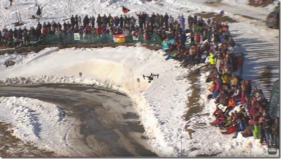 drone elicottero rally