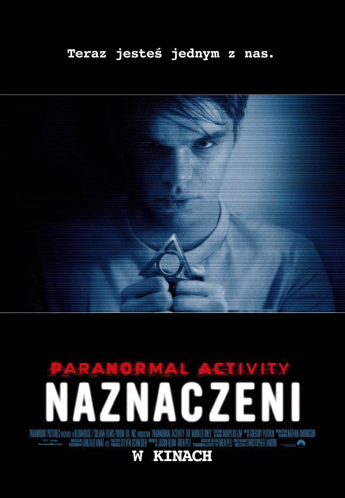 Polski plakat filmu 'Paranormal Activity: Naznaczeni'