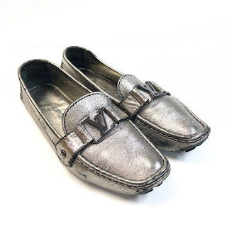 Louis Vuitton Metallic Driving Moccasins