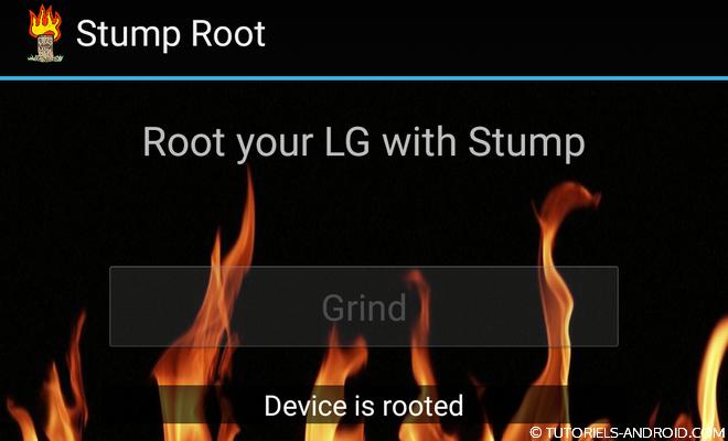 Stump ROOT pour LG