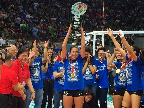 Amy Ahomir wins UAAP Season 77 Finals MVP