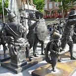 Rembrandtplein in Amsterdam in Amsterdam, Noord Holland, Netherlands
