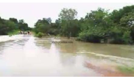 Residents of Sawla district stranded at river bank, calls for immediate reconstruction of Bridge