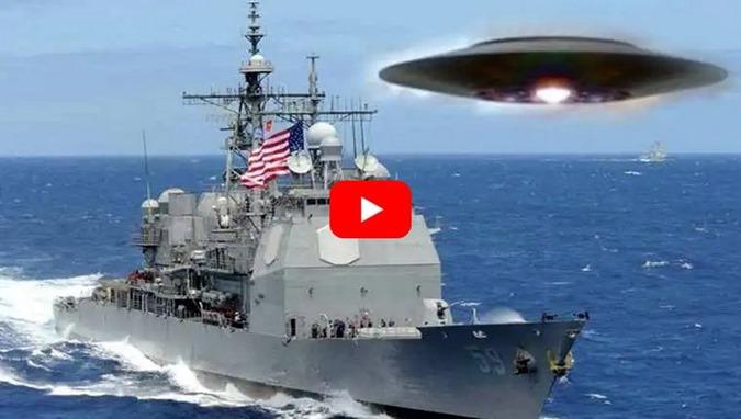 OVNI persegue o cruzador de míssil USS Princeton