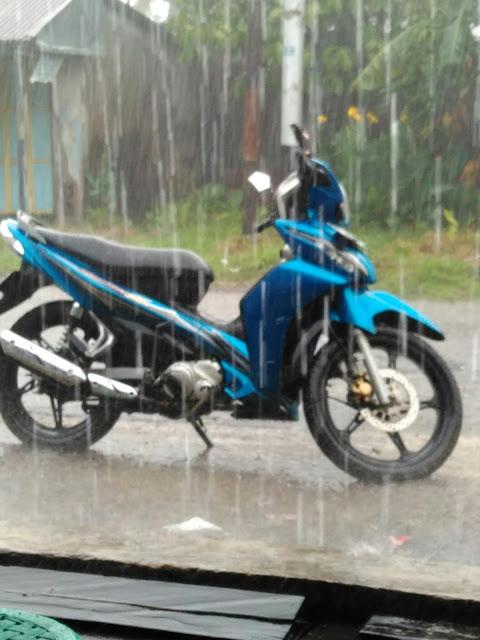 Alhamdulillah hujan lagi. Hari senin ini.