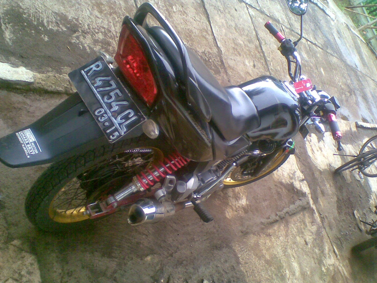 Modifikasi Motor Honda Tiger Ceper