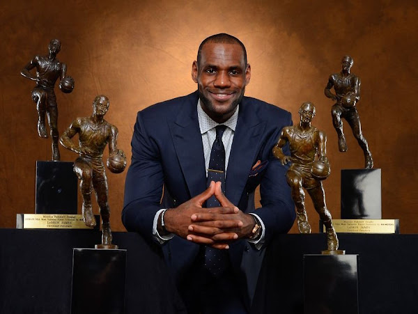 LeBron James Signs First Lifetime Deal With Nike