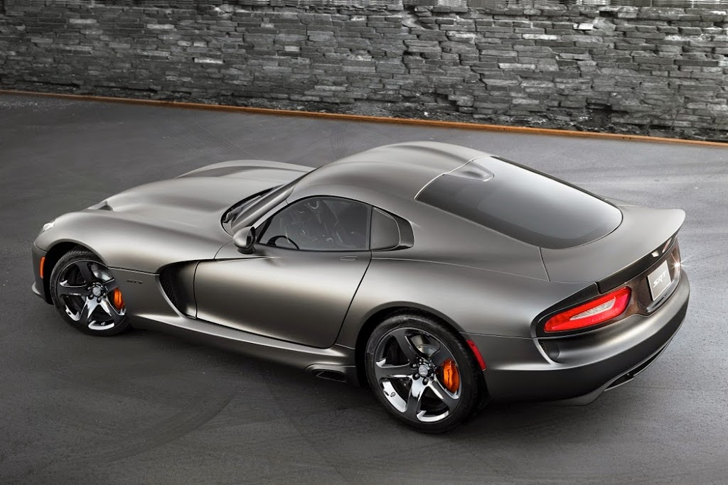 2014 SRT Viper GTS Anodized Carbon Special Edition 2