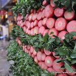 Etal de carottes, Delhi