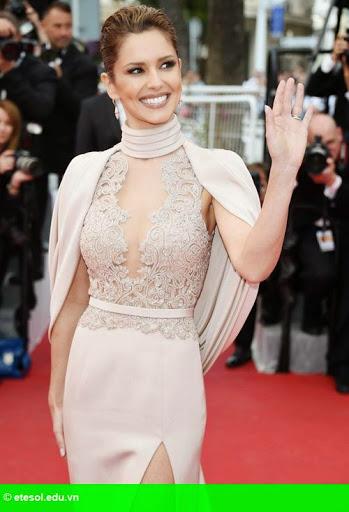 Hình 1:   Cheryl nổi bật ở LHP Cannes