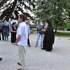 Света Литургија, литија и призивање Светог Духа у манастиру Острогу