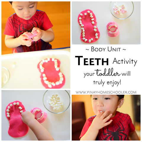 Teeth Activity for Toddlers