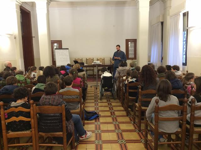 Fratel Paolo Rizzetto incontra i ragazzi del catechismo