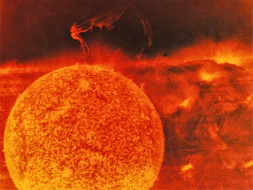 Sun with Large Solar Eruption.jpg