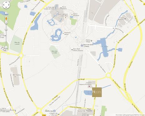 Nouvelle Résidence Serris  Maps_hipark-serris