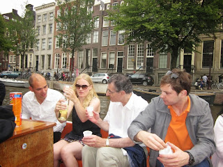 Paseo en barco por los canales de Ámsterdam 2013 / Boat Cruise in Amsterdam 2013