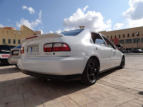 Honda Civic - EG9 - Rear