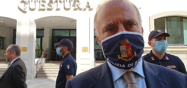 Calcio-Salute. Il Questore di Reggio Calabria, Maurizio Vallone, invita i tifosi della Reggina al rispetto delle norme anti-Covid.