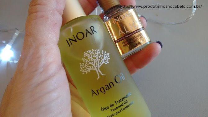 óleo kalice e argan