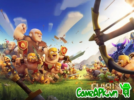 Clash of Clans v6.322.9 Full cho Android