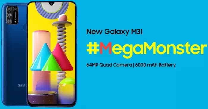 Fitur Samsung Galaxy M31