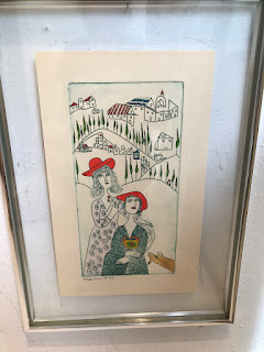 Signed Aquatint Engraving