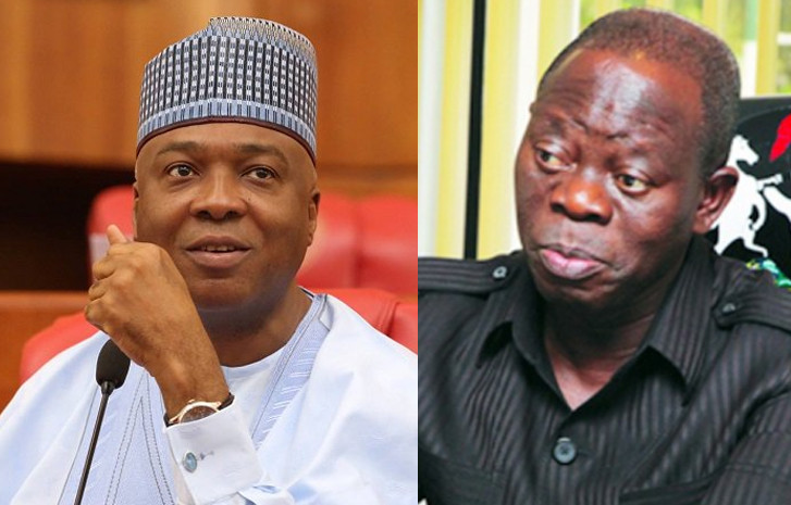 Oshiomhole: I Am Smarter Than Bukola Saraki Politically