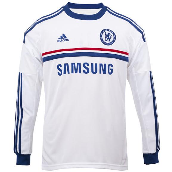 Jual Jersey Chelsea Away Lengan Panjang Terbaru 2014