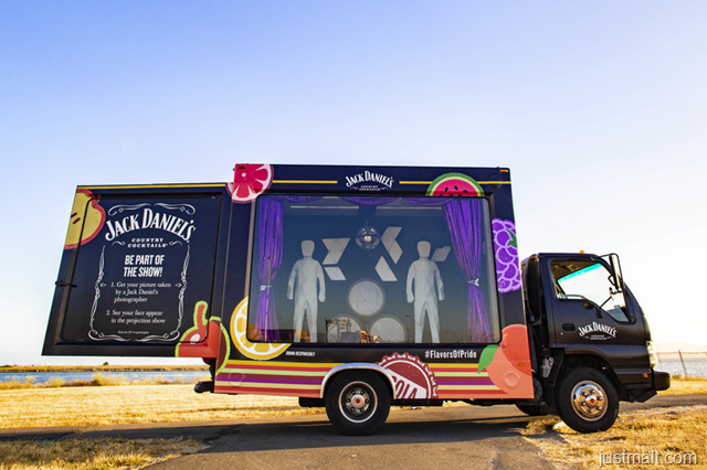 Jack Daniel's Country Cocktails Celebrates LGBTQ Diversity with World's First Projection Mapping Showtruck