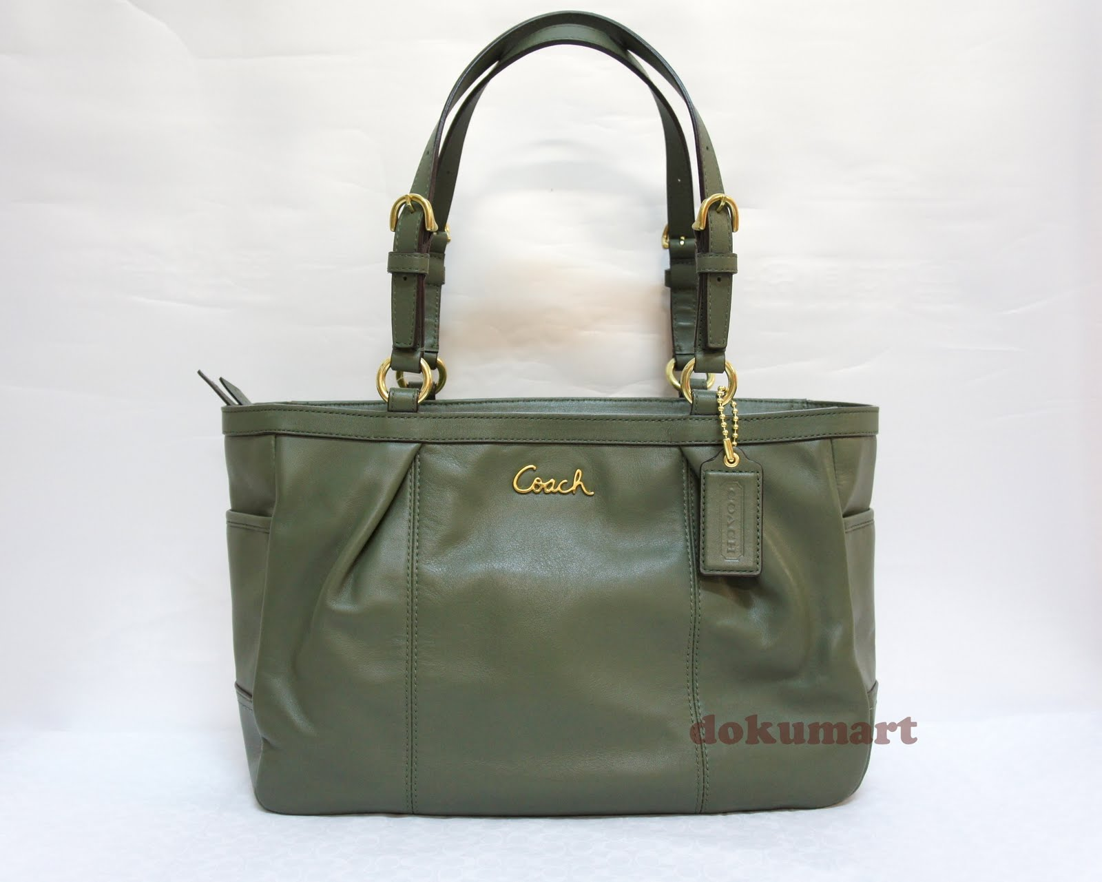 d073899d0aa1 ... purse coach book bag 0144a 73067  top quality coach gallery leather ew  tote 17721 green 05f5b 07c84