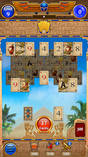 Card of the Pharaoh - Free Solitaire Card Game - náhled