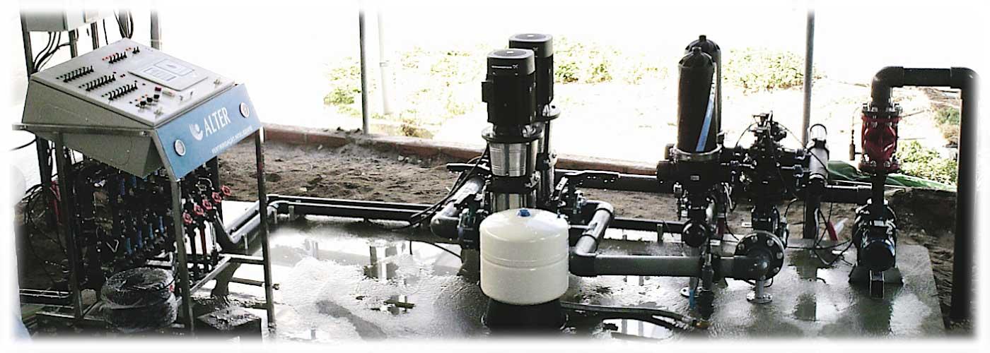Automatizações, Bombagens e Filtragens Criamos, instalamos e programamos o equipamento necessário a uma rega automatizada.