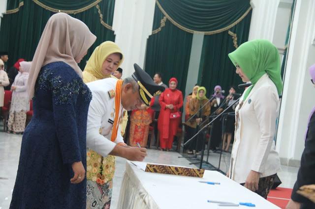 Gunarti Rahmat Effendi Jabat Ketua TPKK Kota Bekasi