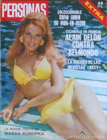 Magda Konopka Spanish Magazine Personas