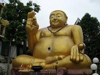 Fat Buddha - Chiang Rai
