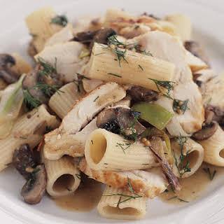 Chicken and Mushroom Rigatoni.