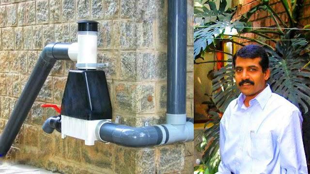 फ्री में पानी और बिजली का लाभ ले रहा है बैंगलोर का वैज्ञानिक..!
