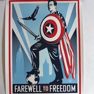Shepard Fairey Signed Serigraph