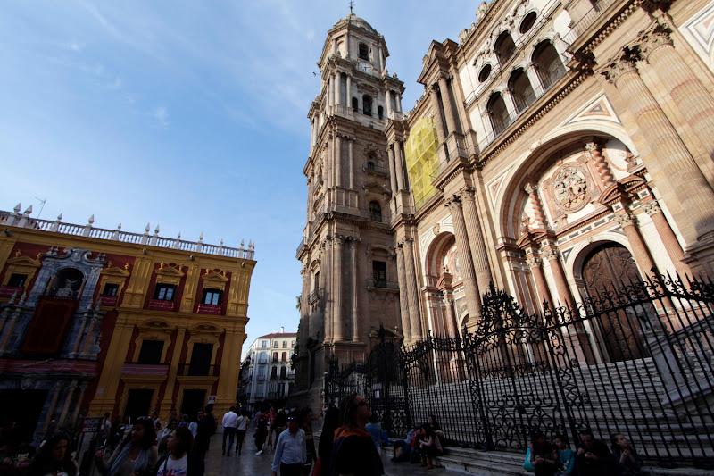 La Manquita, la catedral de Málaga
