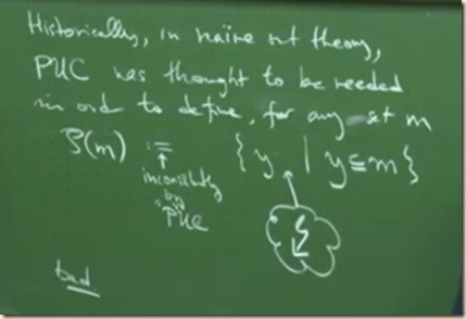 physics set theory powerset 2