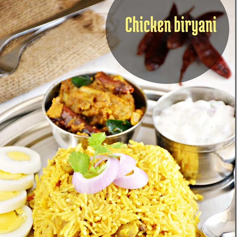 Chicken biryani - Version 2