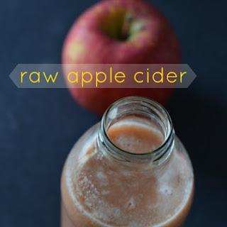 Raw Apple Cider.