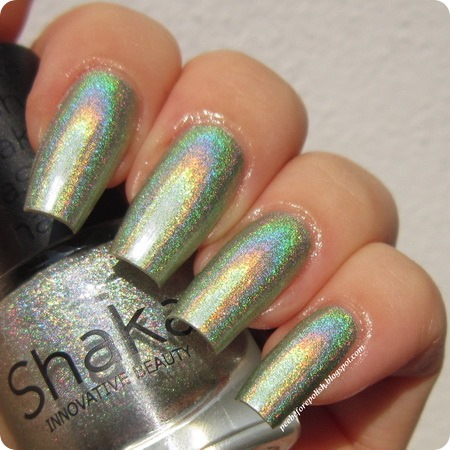 Shaka Hologram Green @Peebeforepolish blog