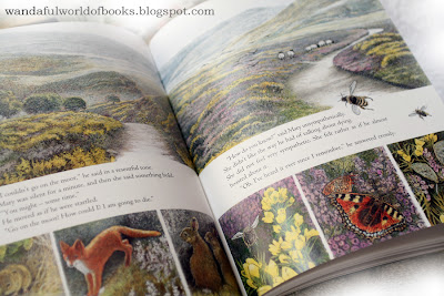 The Secret Garden, illustrated by Inga Moore, Flora and Fauna