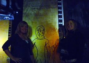 causing trouble at the Middle Ages Krakow Exhibit