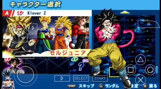 SAIUU NEW !!! MOD DRAGON BALL SUPER TEIKANCHI TAG TEAM + MENU  (PSP) 2018