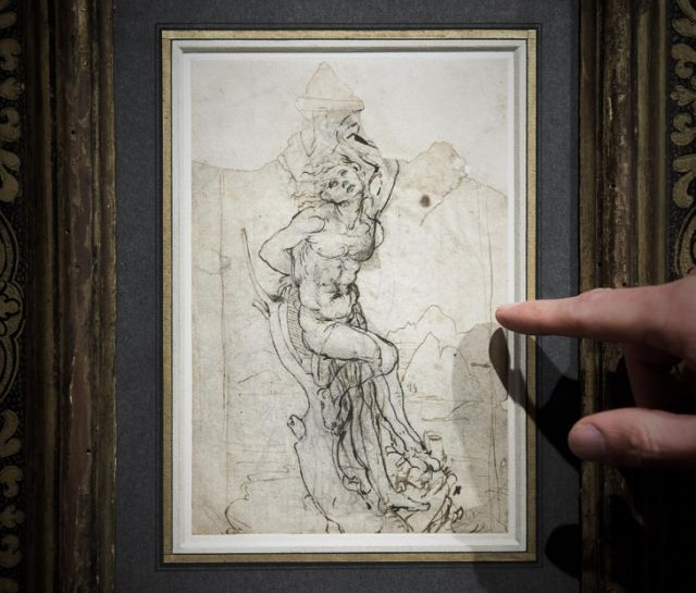 Heritage: Lost 'sensual' drawing by Renaissance master Leonardo da Vinci discovered in France